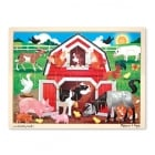 Barnyard Farm Jigsaw 24 pieces