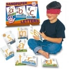 Sandpaper Letters - Sensory and tactile way to learn the alphabet