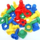 Nuts and Bolts for Fine Motor Skills and Co-Ordination