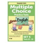 Multiple Choice Practice Tests in English Pack 5