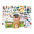 Playmobil Fully Accessible Furnished School Building