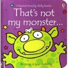 Thats not my monster book - Interactive, sensory book