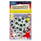Wiggly Googly Eyes Pk 50
