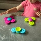 Whirly Squigz- Teething and Fidget Toy