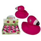 Squeaking Squishy Flamingo Stress Toy
