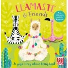 Llamaste and Friends - Guilded Yoga and Meditation Exercises