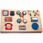 Activity Board For Wall Mounting* - 10 visual, tactile and auditory activities