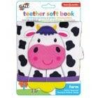 Baby Teether Soft Book - Farm*