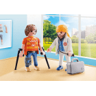 Playmobil Doctor and Patient