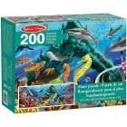 Under the Sea Floor Puzzle Jigsaw 200pcs