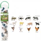 Box of Mini Farm Animals