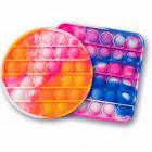 Tie-Dye Push Popper Toy