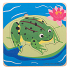 Lifecycle Layer Puzzle - Frog