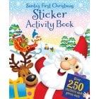 Santas Activity & Sticker Book