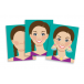 Melissa and Doug Make-A-Face Sticker Pad