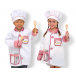 Melissa and Doug Chef Role Play Costume Set - Helps improve Imagination and Storytelling skills