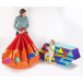 Triangles Portable Ballpool* - A ballpool, seating set and chill out zone in one