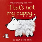 Thats not my puppy book - Interactive, sensory book
