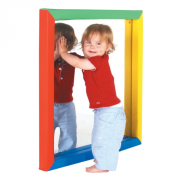 Soft Frame Mirror (Large. 850mm) - Develop childrens self awareness**