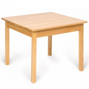 Plain Wooden Table