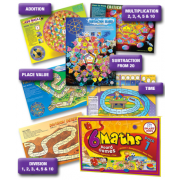 Maths Board Games - Level 1