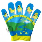 Five Little Ducks Song Mitt Puppet