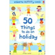 Activity Cards 50 things to do on holiday - Flashcards