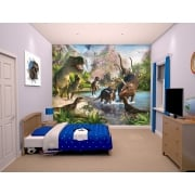 Walltastic Mural - Dinosaur Land Wallpaper*