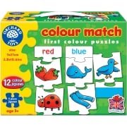 Colour Match Jigsaw Game 5 Pieces
