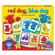 Red Dog, Blue Dog - A first colour match lotto