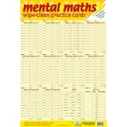Mental Maths Practice Cards Poster