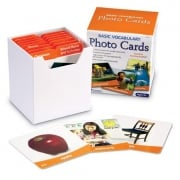Basic Vocabulary Photo Cards - Flashcards