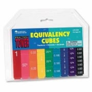 Fraction Tower Cubes Equivalency Set