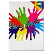 A4 Scrap Book- suitable for writing, drawing, taking notes etc..