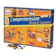 6 Reading Comprehension Games Level 1 (Yrs 3-4)