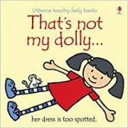 Thats Not My Dolly Book - Interactive, sensory book