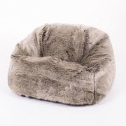 Mink Faux Fur Childrens Bean Bag
