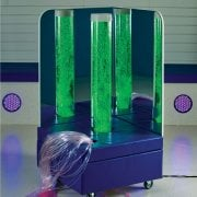 Interactive 1.5m bubble tube and fibre optic corner with Wireless controller**