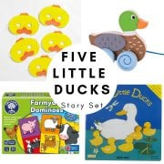 Five Little Ducks Story Set