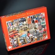 Nostalgia Puzzle Britain - Tower Bridge Jigsaw 1000 Pcs