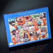 Nostalgia Puzzle Britain Passport Jigsaw 1000 Pcs