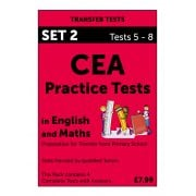 CEA Practice Tests in English and Maths Pack 2