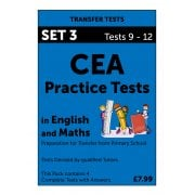 CEA Practice Tests in English and Maths Pack 3