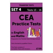 CEA Practice Tests in English and Maths Pack 4