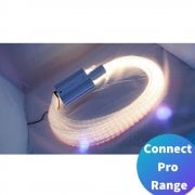 Connect Pro Colour Changing Fibre Optics 1M x 50 Strands with LED Lightsource*