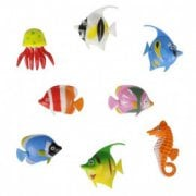 Pack of 8 Fish for Bubble Tube Lamp*
