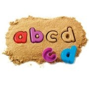 Lowercase Sand Moulds
