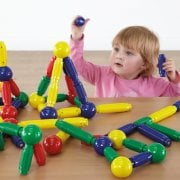 Jumbo Magnetic Construction Set -72 Pieces