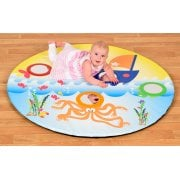 Baby Mirror mat sea life*