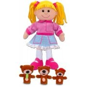 Goldilocks and 3 Bears Hand Puppet set